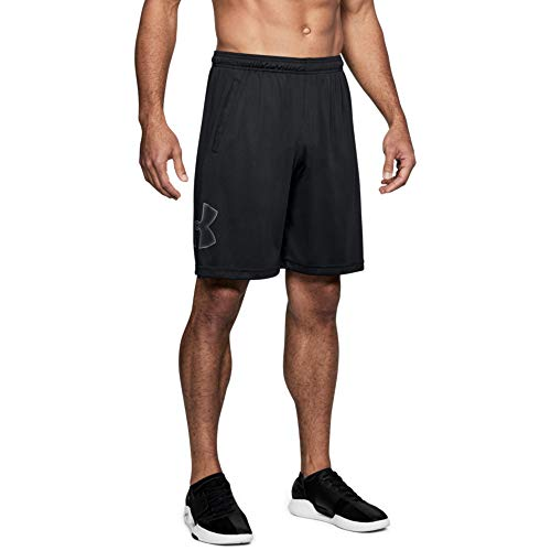 Under Armour Herren UA TECH GRAPHIC SHORT, Schwarz (1), LG