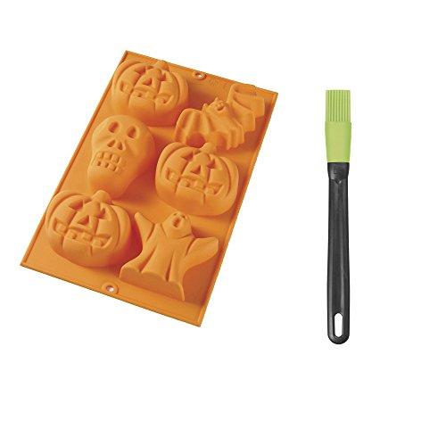 Molde de silicona Halloween + pincel - Lékué