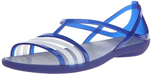 Crocs Isabella Sandal W Sandali a punta aperta, Donna Cerulean Blue