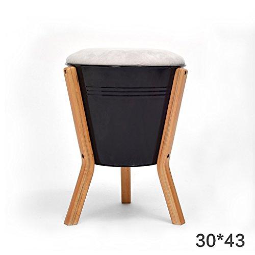 Schuh-speicher-bank (HHCS Schuh-Schuh-einfacher moderner Schemel-Speicher-Schemel-Mode-kreativer Schemel-Speicher-Schemel-feste hölzerne Schemel-Bank Hocker & Stühle ( Farbe : Q ))