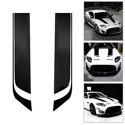 Universal fit Autos Streifen Aufkleber Aufkleber für Auto Dekoration Fender, Motorhaube, Dach, Seite, Kofferraum, Rock, Stoßstange,2pcs -