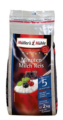Müller\'s Mühle - Minuten Milch Reis - 2kg