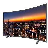 Icarus ic-CURVE55-hD. 55' Zoll (140 cm) Curved Fernseher (HD, LED) TV. Schwarz