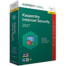 Kaspersky Internet Security Upgrade 2017 | 3 Geräte  | 1 Jahr | PC/Mac/Android | Download