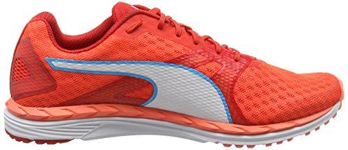 Puma Damen Speed 300 Ignite 2 Outdoor Fitnessschuhe Orange (Nrgy Peach-Poppy Red-White)