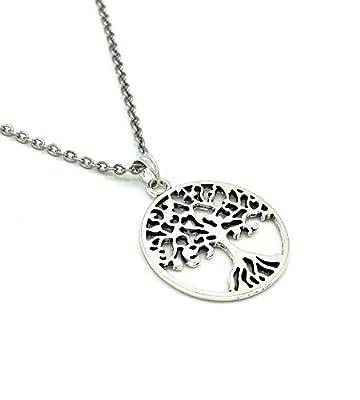 Collier TREE OF LIFE | Acier inoxydable | Arbre de vie | Arbre du monde celtique | arbre de vie | HolycusCrafts