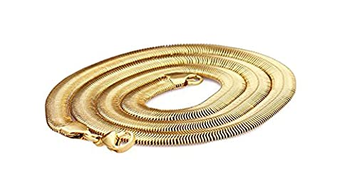 SaySure- Gold Necklace Never Fade Gold Plated Stainless Steel