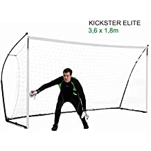 QUICKPLAY Kickster Elite – Super Portatile Porta da Calcio Professionale