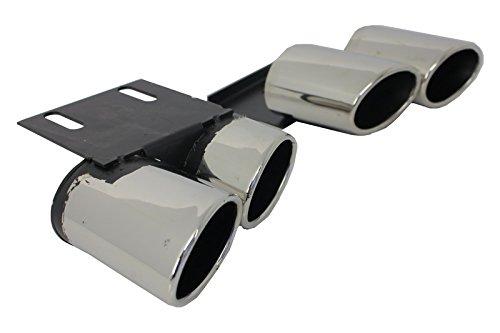 Kitt ty-aua3F silenziatore di scarico coda tubazioni Sedan Sportback Coupe 12–17S3design