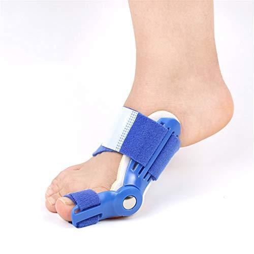 Fengbingl-hm Hallux Valgus Separator für große Zehen Fuß und Zehe zur Korrektur mit Korrekturschiene für Damen und Männer mit Toe Separator für Nacht- und Tageszeit - Zehen Strecker