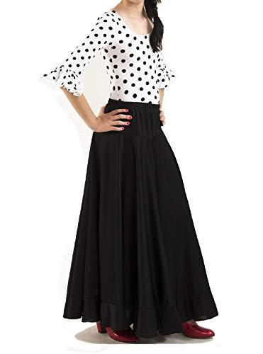 88c4ea1f8 ▷ Compra Falda Negra con Volantes on-line al Mejor Precio - La web ...