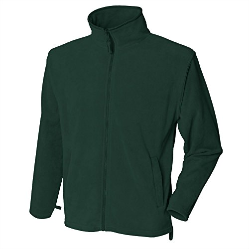 Henbury Microfleece jacket Green