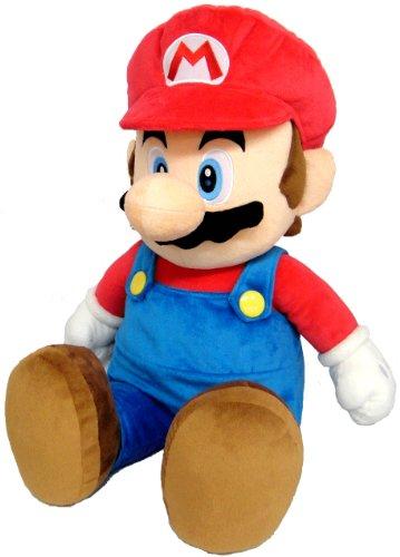 Super Mario Bros. Kuscheltier / Stofftier / Plüsch Figur: Mario 60 cm (San-Ei)