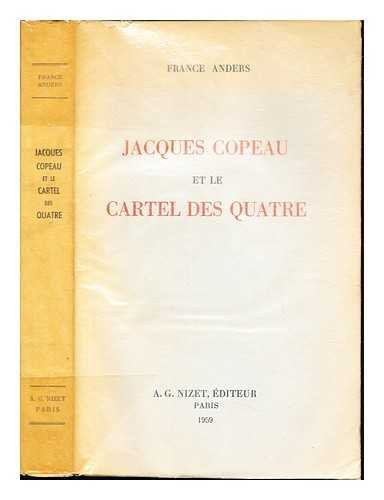 Jacques Copeau et le Cartel des Quatre