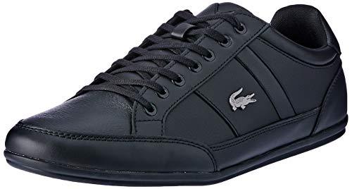 Lacoste Herren Chaymon BL 1 CMA Sneaker, Schwarz (Black/Black), 42 EU