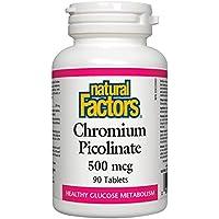 Natural Factors - Chrome Picolinate 500 mcg - 90 Comprimés