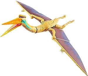 Jurassic World Mega Ataque Doble, Concavenator, dinosaurio de juguete (Mattel GFH08)