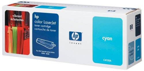 HP C4150A Toner für Color LaserJet 8500 Serie (8.500 Seiten) cyan