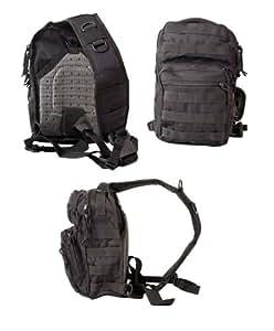 Kombat Mini Molle Recon Shoulder Bag 10L Black
