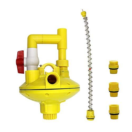 LYY Wasserleitungsregler, Zwei-Wege-Recoil-Regulator/Automatischer Trinkbrunnen Druck-Druck-Druckventil für bewirtschaftete Hühner