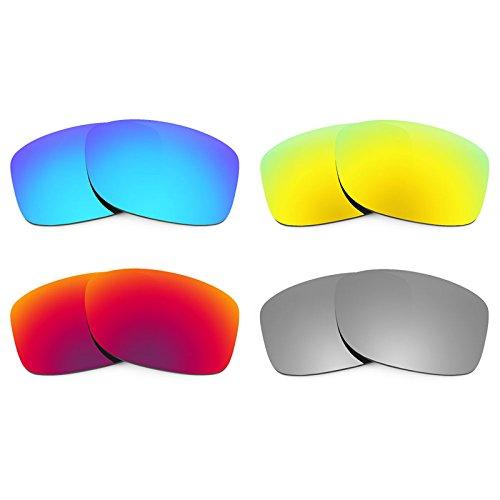 Revant Ersatzlinsen für Oakley Jupiter Squared Polarisiert 4 Paar Kombipack K020