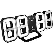d52c76d45c8b Yosoo Alarma Big Time Relojes LED Digital    Cuenta atrás    adelante Reloj  con el controlador remoto ...