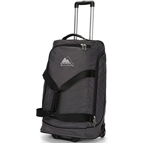 COX SWAIN Trolley Drake Reisetasche - Rollentasche 89 Liter, Colour: Dark Grey