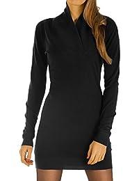 Bestyledberlin Damen Kleider, Pulloverkleid, Langarm Strickkleider, Langes Pullover Oberteil t29z