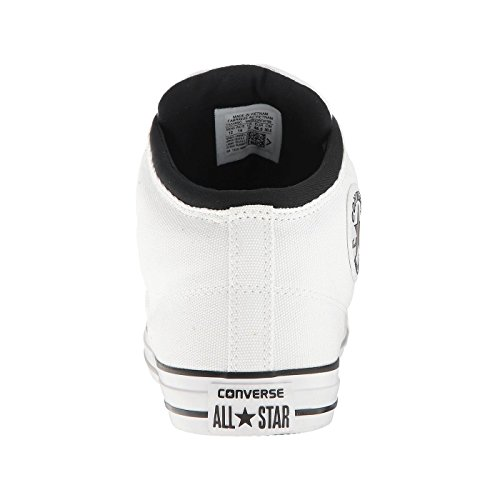 Converse Womens Chuck Taylor All Stars High Street Hi Top Canvas Trainers White
