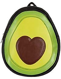 Schöner Rucksack Avocado 26 x 28 x 6 cm schwarz