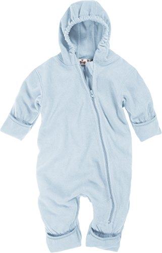 Playshoes Unisex-Baby Fleece Overall, Blau (17 bleu), 80
