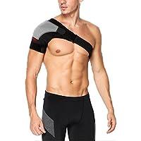 zamac- ajustable hombro correa movimiento hombro protección correa para el hombro apoyo hombro correa. (se adapta tanto derecha o izquierda hombro), Izquierda