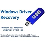 Automatic Driver Installation USB Drive 32GB for Windows 10, 7, Vista and XP. Supports HP Dell Gateway Toshiba Gateway…