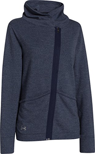 Under Armour Womens Wrap Up Full Zip Midnight Navy