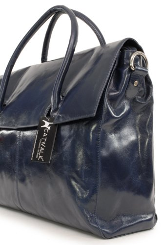 Catwalk Collection Handbags Helena, Helena femmes Bleu Marine