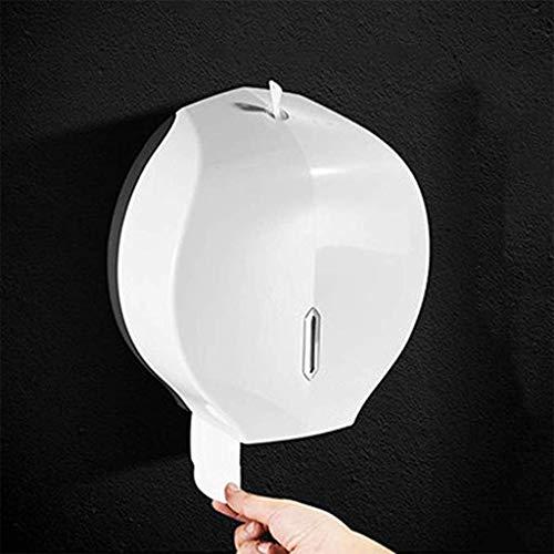 Gjrff Toilettenpapierhalter Küche Bad Rollenhalter Wandmontage Kunststoff Tissue Box Badzubehör