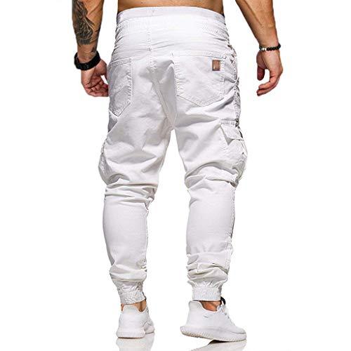 Zoom IMG-2 yu ting pantaloni cargo uomo