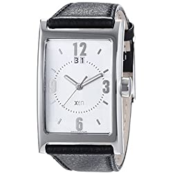 Xen Herren-Armbanduhr Analog Quarz Leder XQ0252