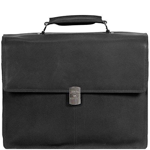 Harolds Country cartella portadocumenti pelle 39 cm compartimenti portatile nero nero