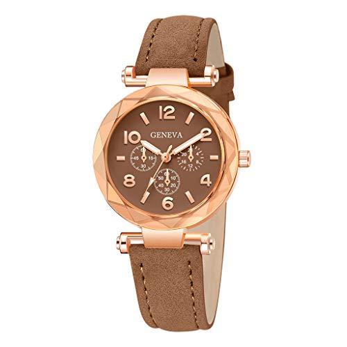 Uhren Damen Uhr Frauen Quarz Armbanduhr Klassisch Uhr Damen Kleid Geschenk Uhren Retro Armbanduhr Mode Uhrenarmband Watch ABsoar