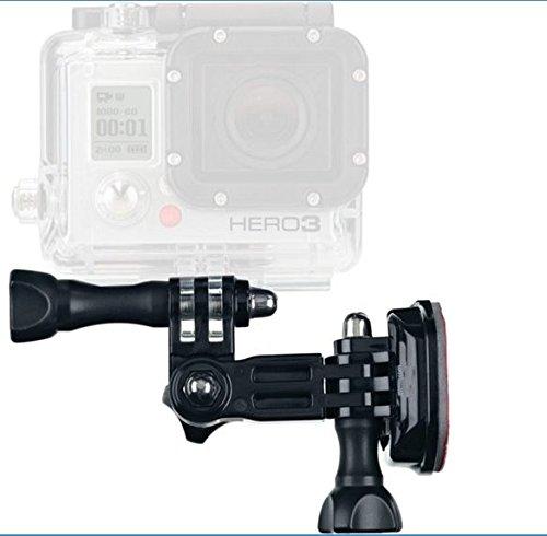 Protastic casque côté support de fixation pour caméras d'action (GoPro, Xiaomi, SJCAM, etc.)