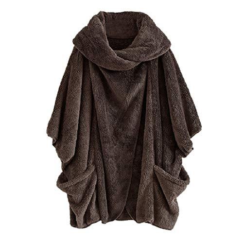 (PAOLIAN Damen Mantel Winterjacke,Damen Wintermantel Rollkragen Warm Outdoor Mantel Jacke Verdickt Outwear Trenchcoat Parkas Mantel)