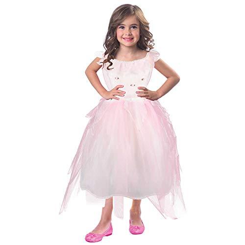 Rosebud Fairy Kostüm - Rosebud Fairy Costume, 3-5Year (Kostüm)