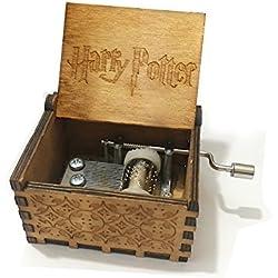 """Premier Boîte à musique,""""Harry..."""" gravé en bois Boîte décorative cadeaux de Noël"""