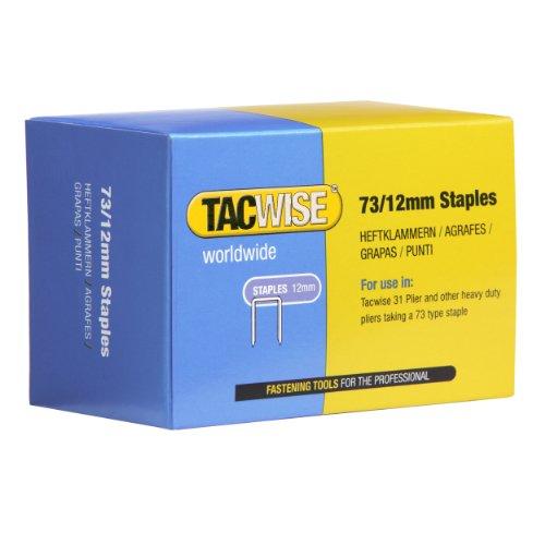 Tacwise 0457 Grapas galvanizadas de tipo 73/12 mm