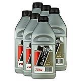6x Trw Bremsflüssigkeit Brake Fluid Grand Prix Racing Dot 4 1 L Pfb601