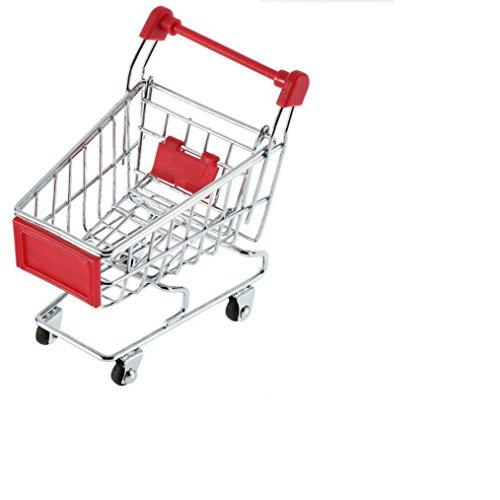 haoyishang-mini-shopping-cart-supermarket-handcart-shopping-utility-cart-mode-storage-toy-red