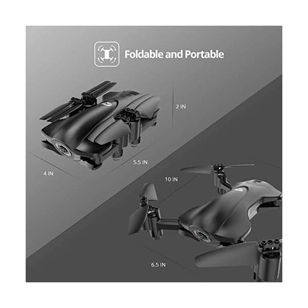 Holy Stone HS165 GPS Drone with 2K HD Camera for Adults, Foldable Drone for Beginners, FPV RC Quadcopter with GPS Return Home, Follow Me, Altitude Hold and 5G WiFi Transmission Live Video 7