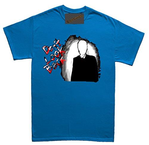 Renowned Don't Look Back Herren T Shirt Blau