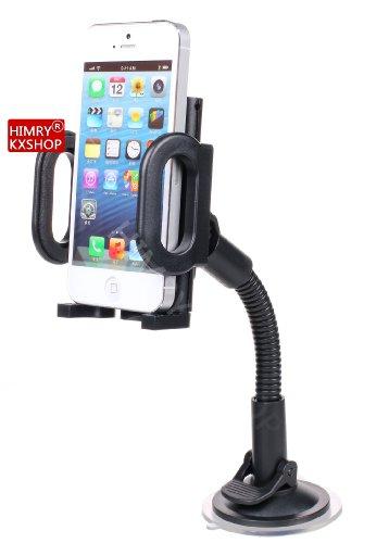HIMRY Universale Auto Supporto Auto Ventosa Parabrezza Supporto per Cellulare Smartphone GPS PDA, 360° girevole, KXC5006